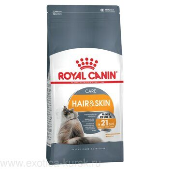 Royal Canin hair & Skin 400 гр