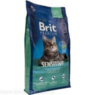 Brit premium sensitive 800 гр